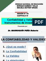 SESION-4-Confiabilidad y Validez de Instrumentos de investigacion (1).pdf