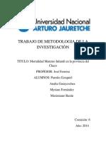 Trabajo de Metodología de La Investigación