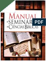 Diversos Autores - SBB...Manual do Seminário de Ciências Bíblicas.pdf