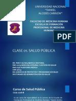 Clase 1. Salud Publica Conceptos UNDAC 2018