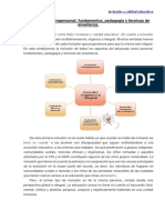 Fundamentos Antropologicos y Pedagógicos - Inclusión Intrapersonal