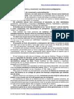 Inclusión Histórica y Vocacional, Sus Dimensiones Pedagógicas