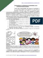 Las Conductas Disruptivas y Su Influencia en El Aprendizaje y en La Convivencia Escolar Inclusiva.