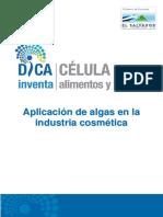 Aplicacion de Algas en La Industria Cosmetica