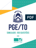 1.100 Questoes PGE-To 2018