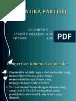 KINEMATIKA PARTIKEL