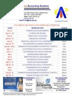 Upcoming Seminar Schedule[1]