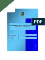 04 - Procedimiento de Gestion de Residuos Industriales