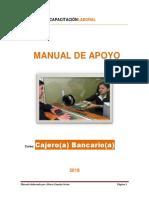 Manual de Apoyo - Cajero Bancario 2018 - Bk Capacitación Laboral
