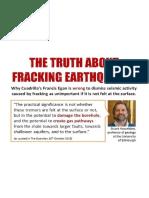 Fracking Earthquakes