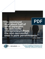 Perseverance Separates the Successful From the Un-successful.