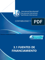 3 1 Fuentes de Financiamiento
