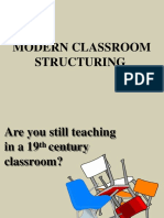 Modern Classroom Structuring