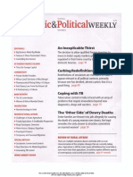 Economic and Political Weekly Vol. 47, No. 4, JANUARY 28, 2012