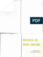Mecanica Del Medio Continuo - Enzo Levi