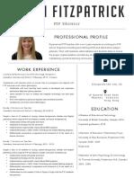 sarah fitzpatrick resume
