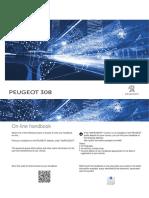 Peugeot Driver Manual 308