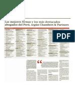 Las Mejores Firmas y Abogados más destacados del Perú