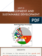 Development and Sustainable Development