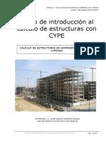 Calculo Estructuras Con CYPE
