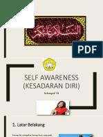 Ppt Self Awarness