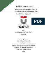 Anzdoc.com Operation and Maintenance Ftth Di Pt Telekomunikas