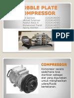 Wobble Plate Compressor