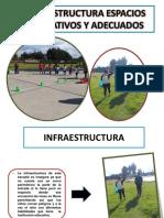 Infraestructura Espacios Recreativos y Adecuados