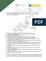 Avaliação Acionamento de Dispositivos e Atuadores Pneumática e Eletropneumática