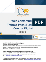 Web Conferencia 3 Control Digital Paso 3 Fecha 05-10-2018