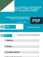 Presentacion Lineamiento Programa de ETV Dic 2013