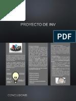 Lfts Proyecto de Inversion
