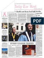 The Daily Tar Heel for October 13, 2010