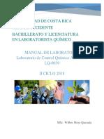 MANUAL DE LABORATORIO DE CONTROL QUÍMICO