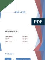 Rate Laws Kelompok 3 (1)