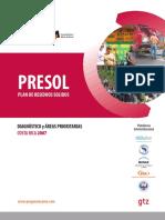 Costa Rica - Plan de Residuos S¢lidos - PRESOL - Diagnostico †reas prioritarias.pdf