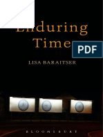 Lisa Baraitser Enduring Time