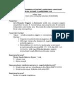 CARA MENGATUR (MEMINDAH ATAU MUTASI) ANGGOTA KE KOMISARIAT.pdf