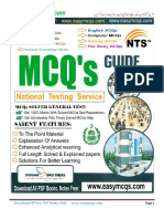 Dogar Brothers MCQs Guide for Jobs Exams Test