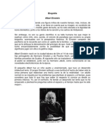 Albert Einstein Biografía