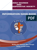Kanisa Sacco Information Booklet
