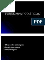 parasimpaticolíticos