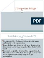 PR and Corporate Image