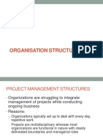 Organization Structure Lec # 4
