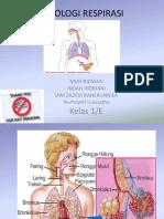 Anatomi Dan Fisiologi Pernapasan KLP v(Lima)