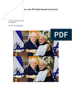 Five strong reasons why PM Modi should visit Israel.docx