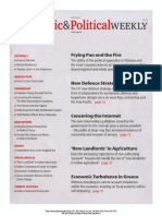 Economic and Political Weekly Vol. 47, No. 5, FEBRUARY 4, 2012