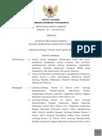 Perbup 10.1 Tahun 2018 tentang Standar Pelayanan.pdf