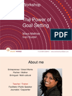 Smart Works PPT the Power of Goalsetting