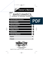 Tripp Lite Owners Manual 754069